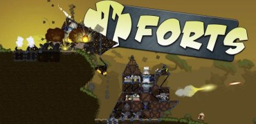 Forts Game Review – Worms Meets World of Goo