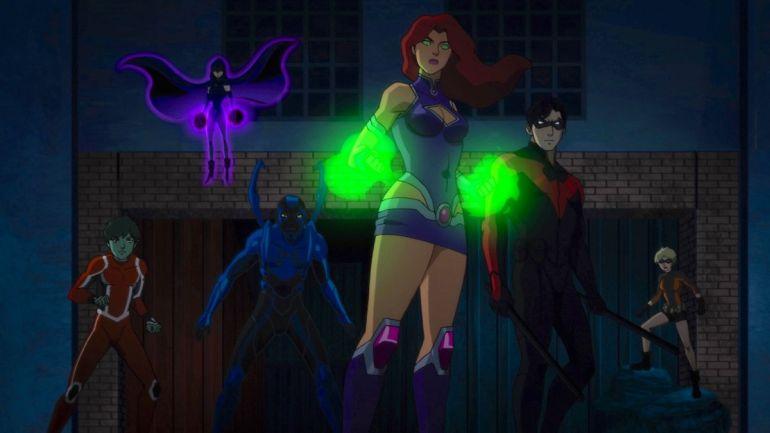 Review Teen Titans The Judas Contract