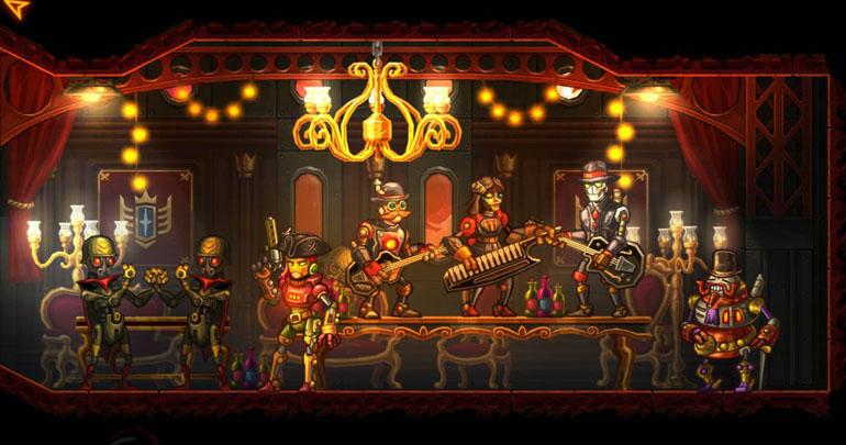 SteamWorld Heist Review - A Dazzling Futuristic Pirate Western