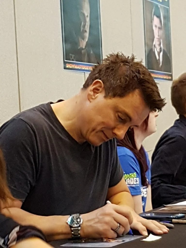 Barrowman Signing