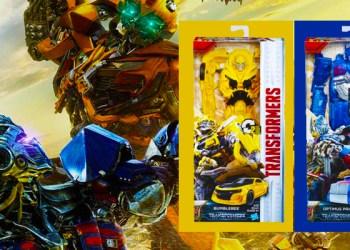 Win A Transformers: The Last Knight Titan Changers Figurine