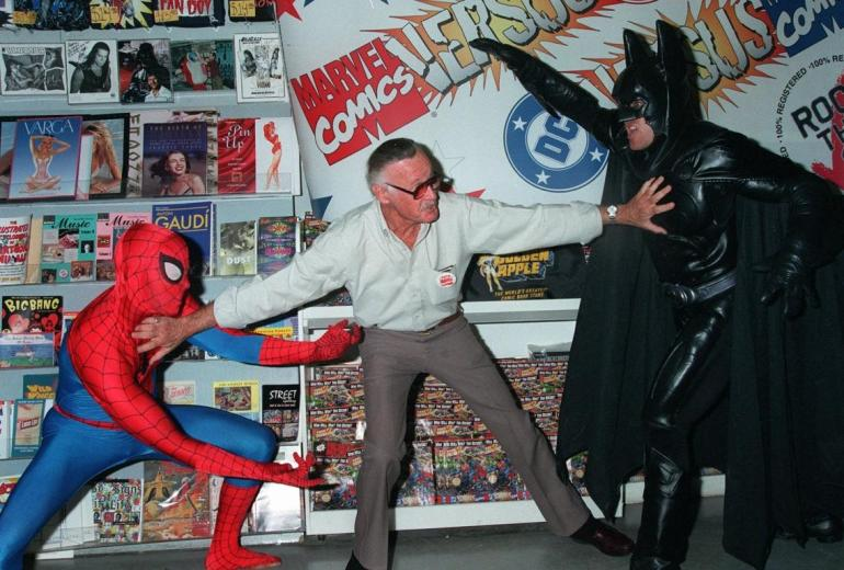 Stan Lee DC and Marvel