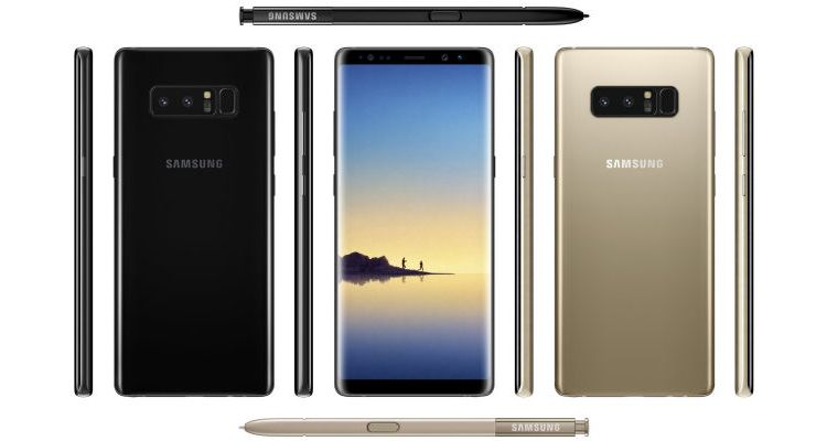 The Leaked Samsung Galaxy Note 8 Looks Amazing