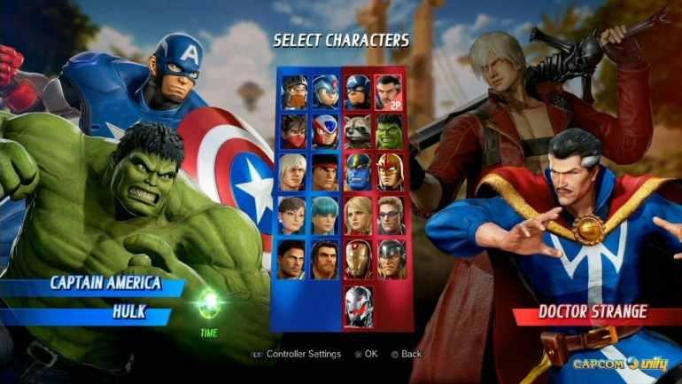 Marvel vs Capcom - Infinite
