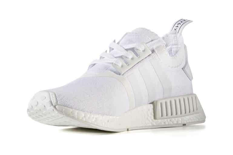 ADIDAS TRIPLE WHITE NMD REVIEW + ON FOOT
