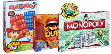 Win A Hasbro Gaming Hamper Worth R1050!