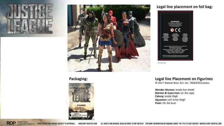 Win Justice League Merchandise