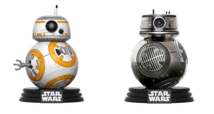 Win A Star Wars: The Last Jedi Pop! Vinyl Bobble Head Set