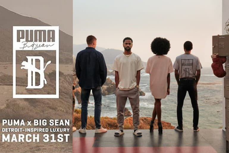PUMA Reveals PUMA X Big Sean Debut Collection
