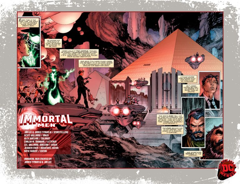 THE IMMORTAL MEN #1