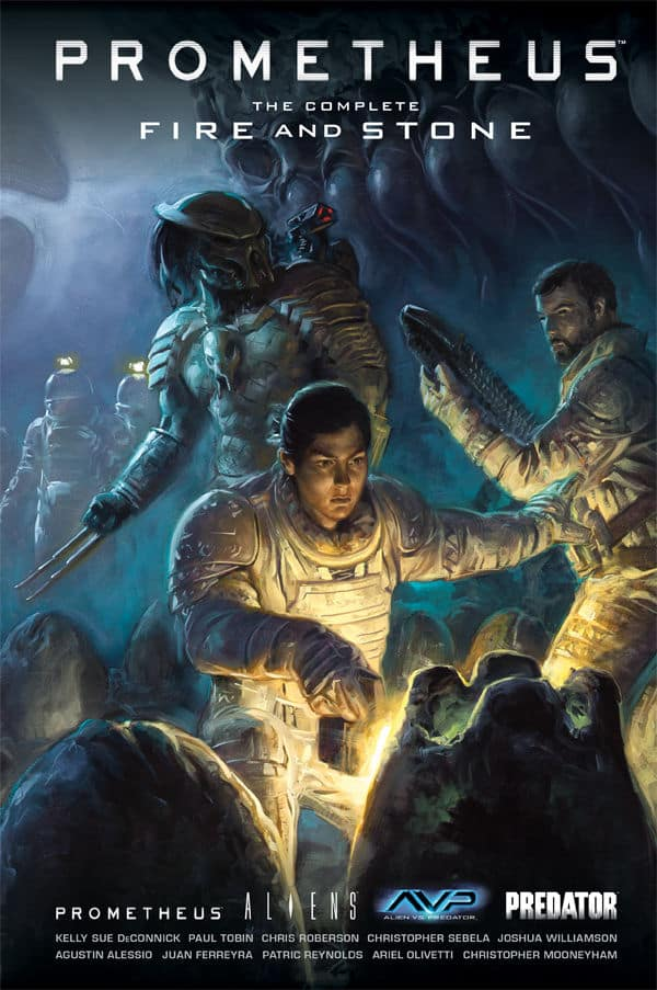 Prometheus: The Complete Fire And Stone Review - The Prometheus, Aliens, AVP, Predator Crossover Event