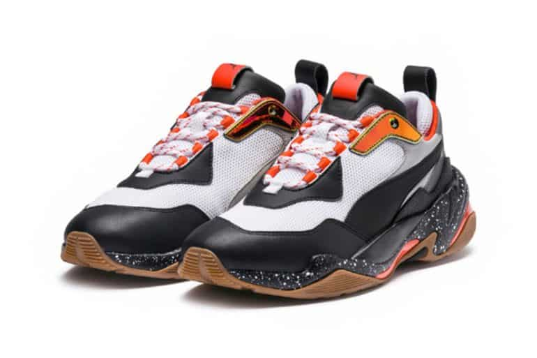 5d7cd12fe6 Women Wear Dad Shoes For Father's Day With PUMA Thunder Electric