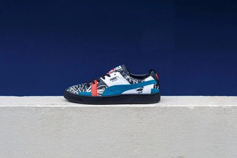 PUMA Drops Second Collaboration With Graphic Artist, Shantell Martin