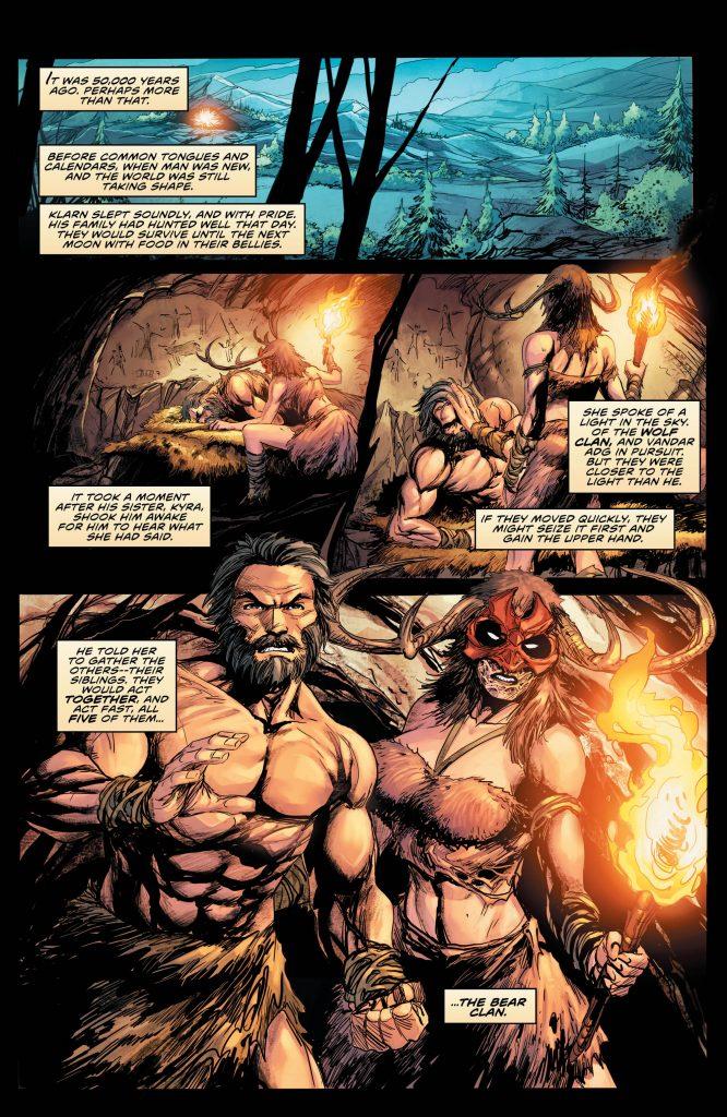The Immortal Men #4
