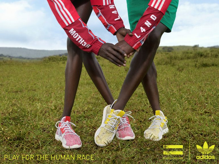 adidas Originals By Pharrell Williams Drops SOLARHU Collection