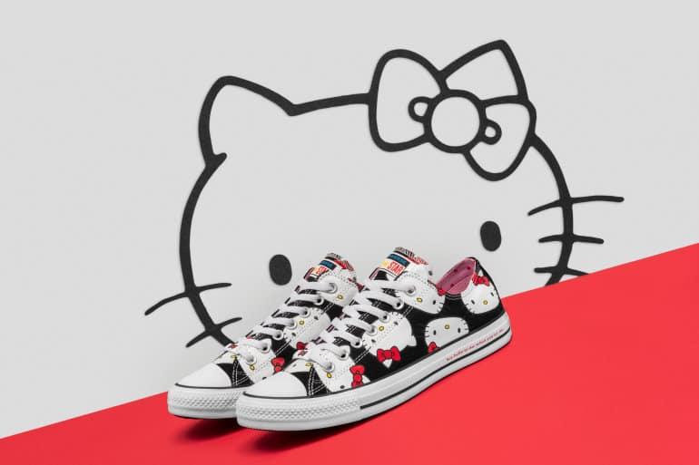 Converse Drops Long-Awaited Converse X Hello Kitty Range