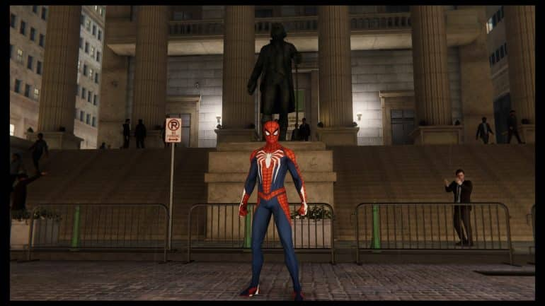 Spider-Man - Wall Street
