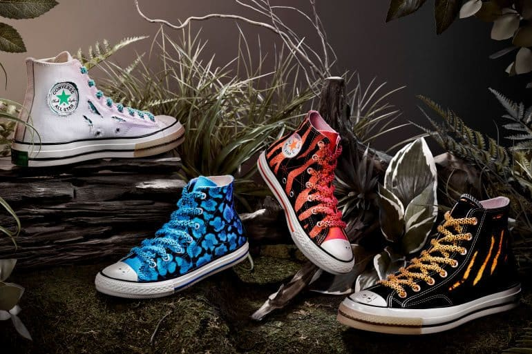 Converse Drops Printed Collection With Converse X Dr. Woo Chuck Taylor