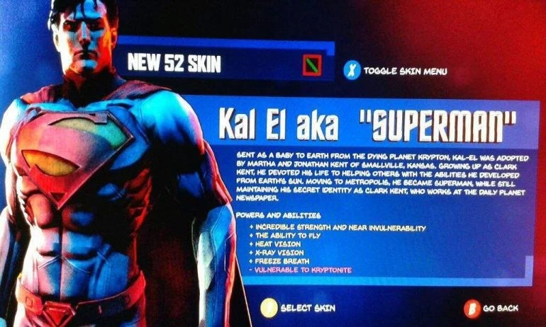 Rumoured Arkham Superman Game