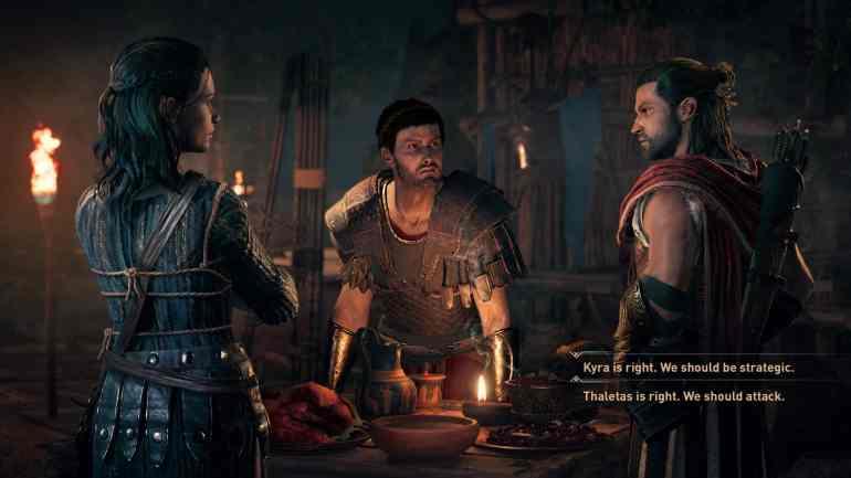 Assassins Creed Odyssey Kyra Thaletas