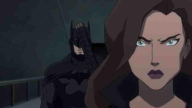 Batman and Talia Al Ghul