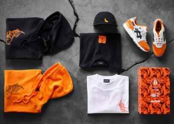 Afew X BEAMS X ASICSTIGER Drops New Orange Koi Collaboration