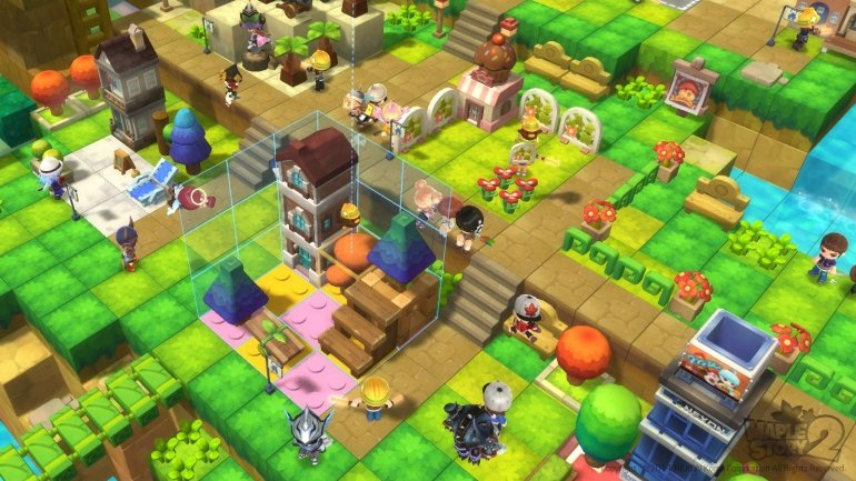 Maplestory 2 Gameplay