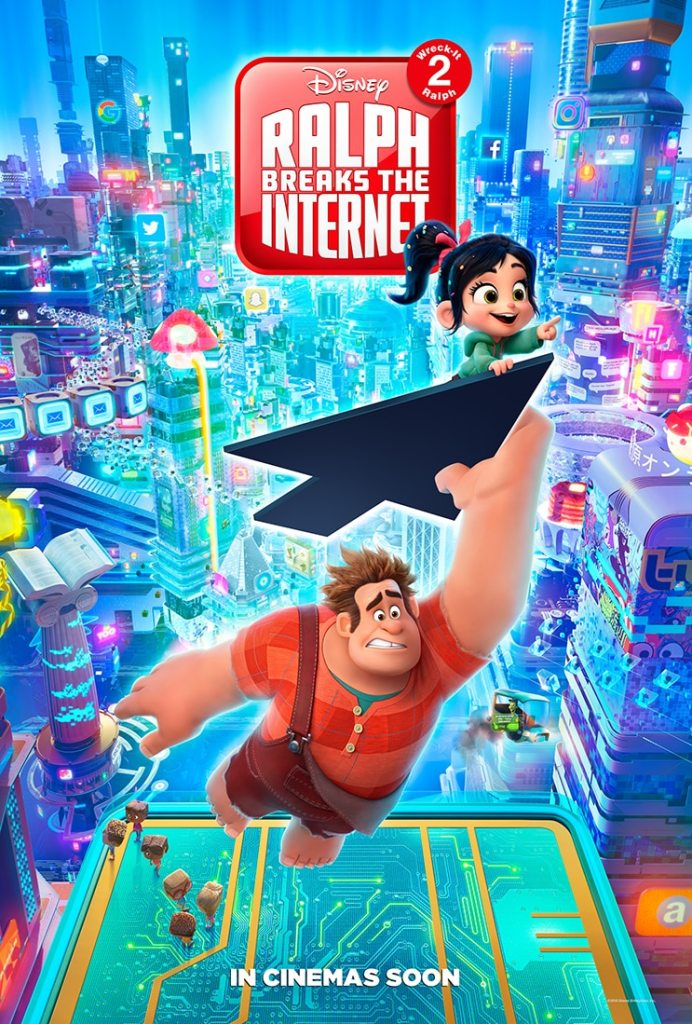 Win Fantastic Ralph Breaks The Internet Merch!
