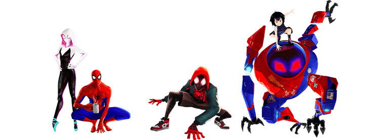 Spider-Man-Into-The-Spider-Verse-Group