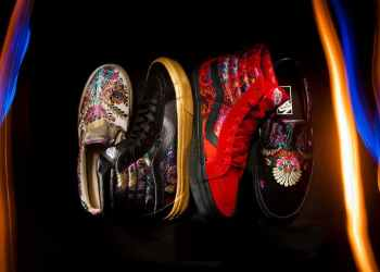 Get Into The Holiday Spirits Early With Vans Satin Brocade Collection