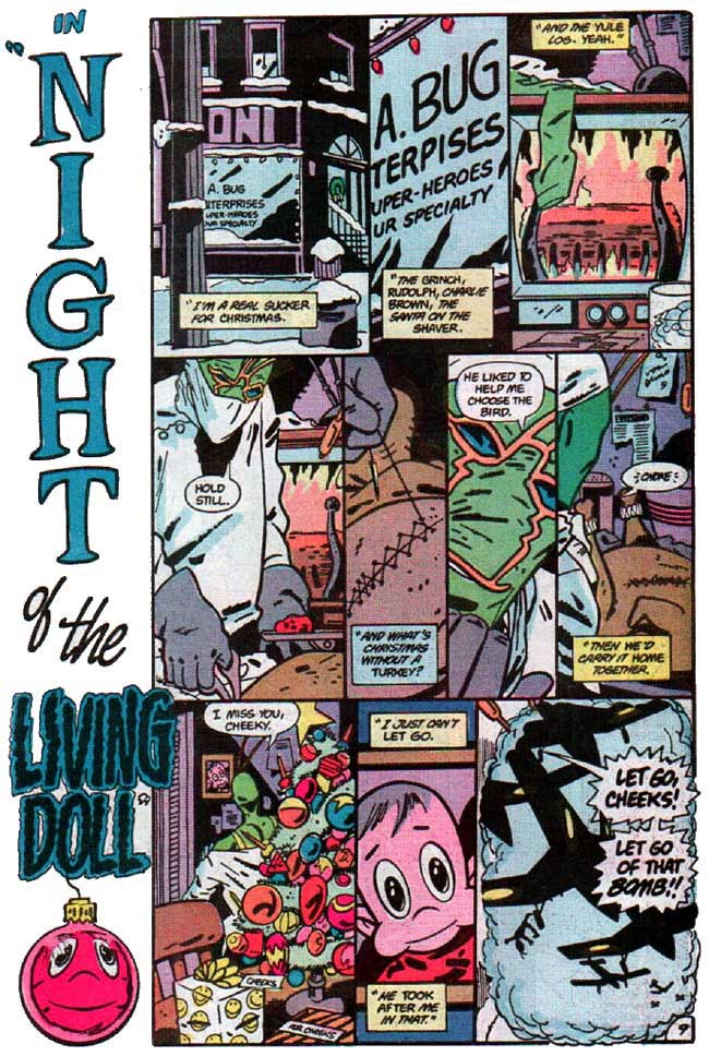 Ambush Bug Stocking Stuffer #1