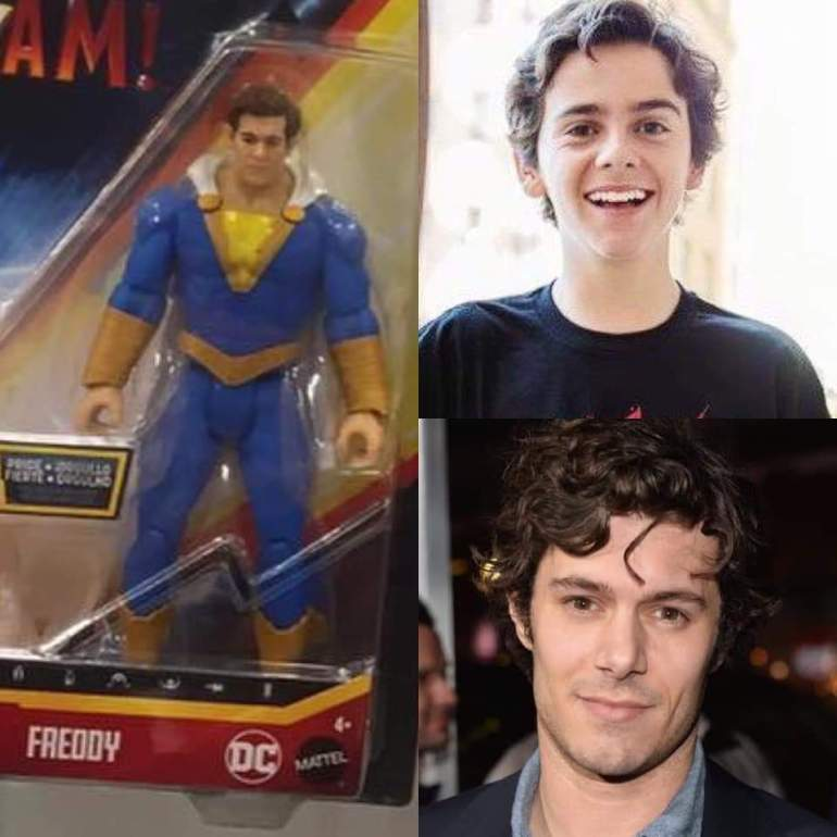 Jack Dylan-Grazer and Adam Brody as Freddy