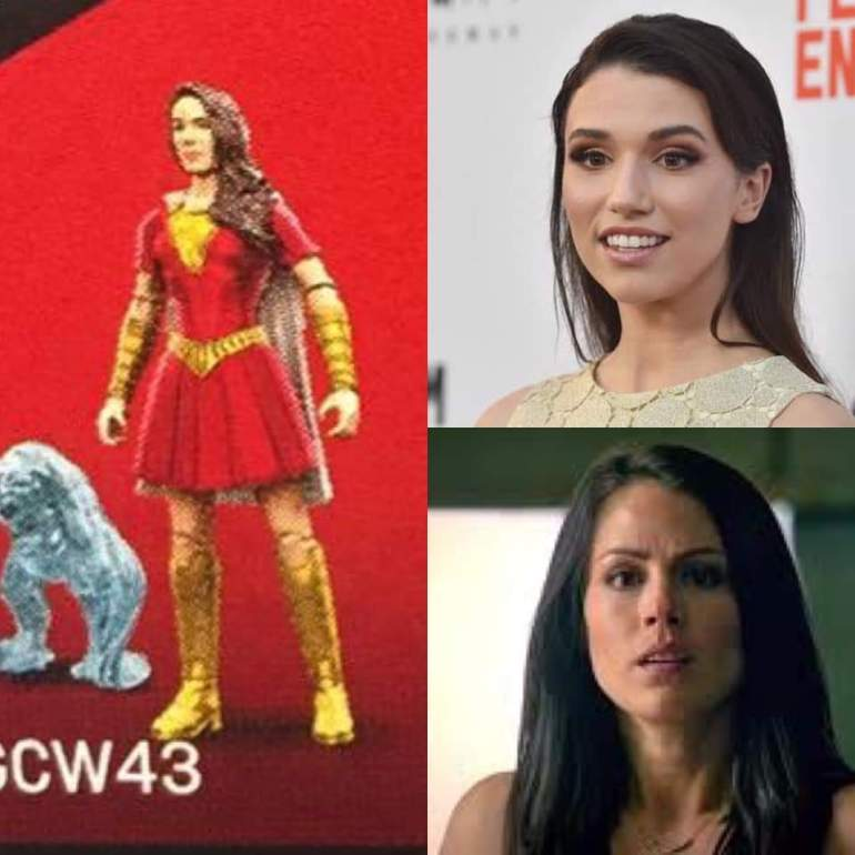 Grace Fulton and Michelle Borth as Mary