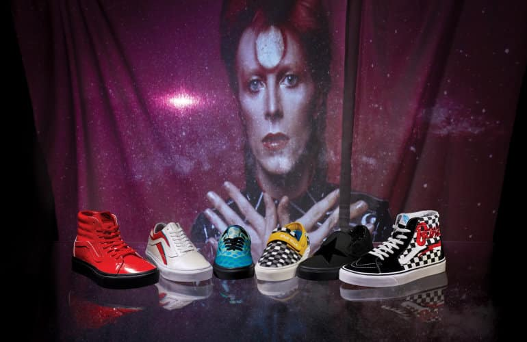 Vans South Africa Confirms Local Drop To Honour David Bowie Legacy