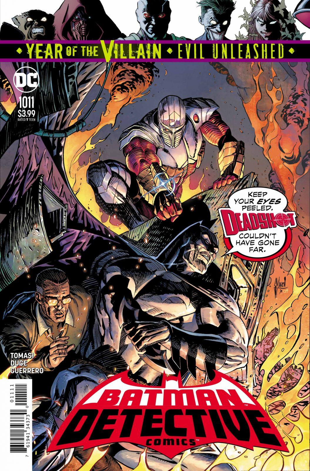 Batman Detective Comics 1011