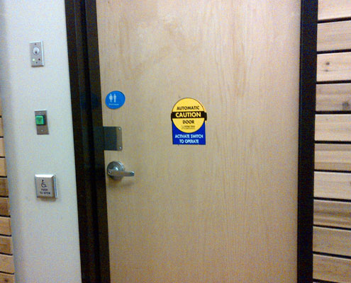 Automatic Door Repairs Fortress One Security