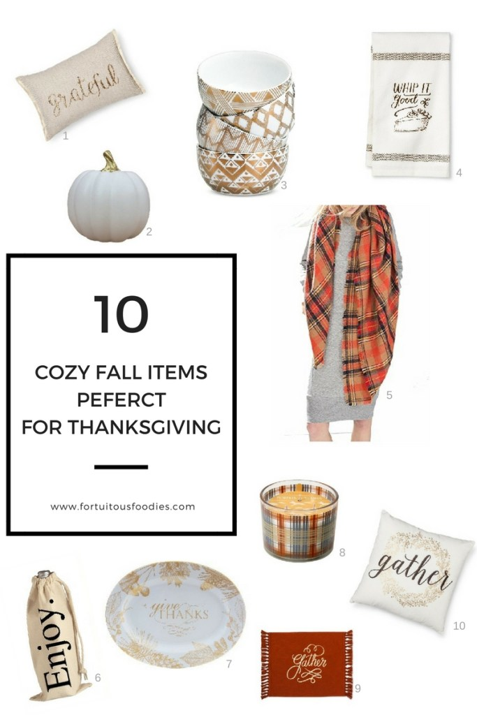 10 Cute & Cozy Ways to Decorate for Thanksgiving
