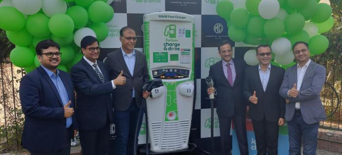Fortum Charge & Drive and MG Motor India Open First 50 kW Chargers | Fortum