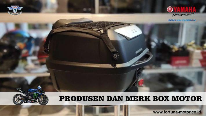 produsen dan merk box motor