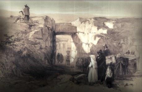 Interno Porta Maggiore dell'Acropoli