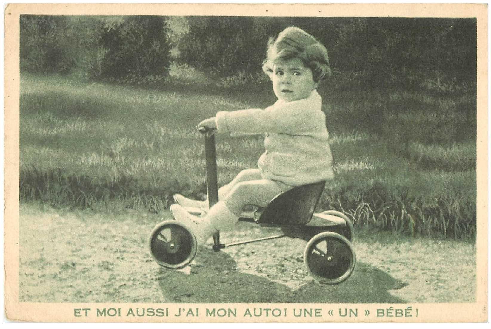 enfants fillette et tricycle publicite la samaritaine paris