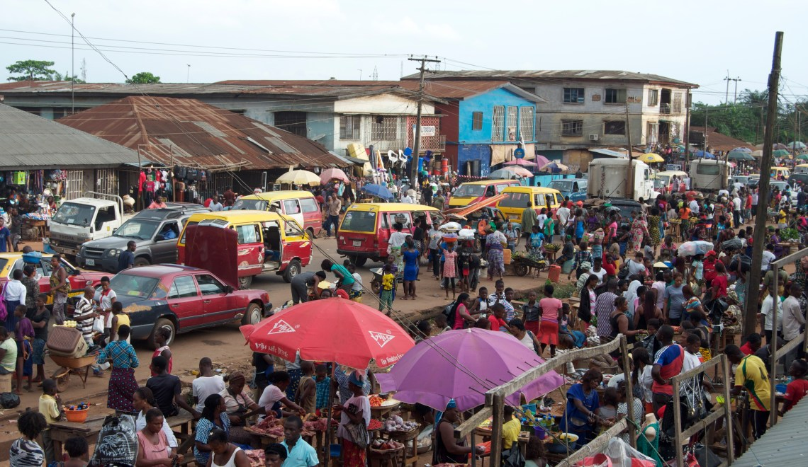 Benin City: Half of Everything Once Whole by Dare Dan