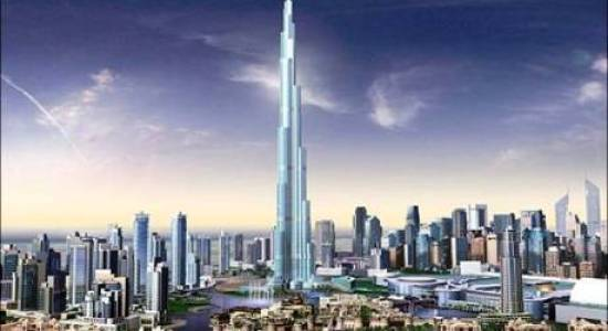 The phenomenal Burj Dubai Tower