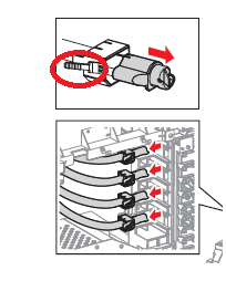 No Color Because of Clogger Toner Auger in the Dell 5100CN