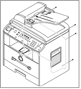 Fuser Replacement Procedure for the Dell 1600n MFP