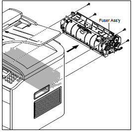 Dell 1815dn MFP Fuser Removal Procedure With Pictures