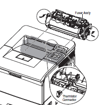 Xerox Phaser 3500 Fuser Assembly Removal Instructions