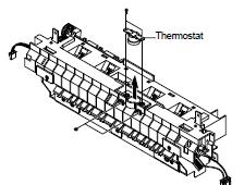 Samsung SCX-4016, 4116, 4216F Open Heat Error