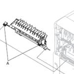 Lexmark T654, T652, T650 Print cartridge Cooling Fan