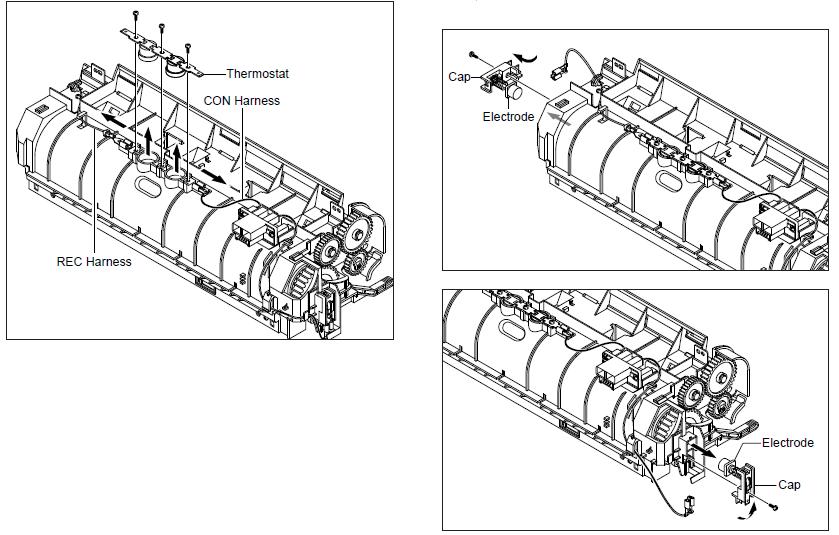 Ricoh Aficio SP 3200SF Open Heat Error Message G960-1600